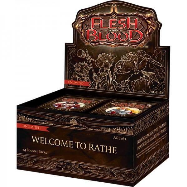 Flesh & Blood Welcome To Rathe Unlimited Boosterbox