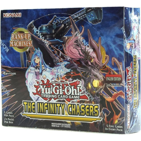 Yu-Gi-Oh - The Infinity Chasers Booster Display