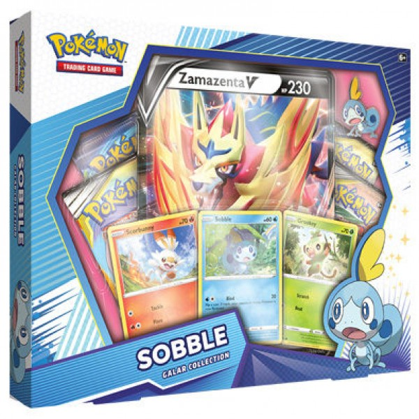 Galar Collection Box - Sobble / Zamazenta V