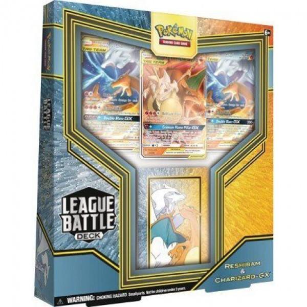League Battle Deck - Reshiram & Charizard GX