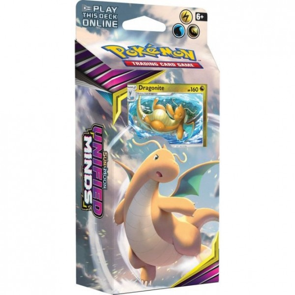Sun & Moon Unified Minds Theme Deck Dragonite