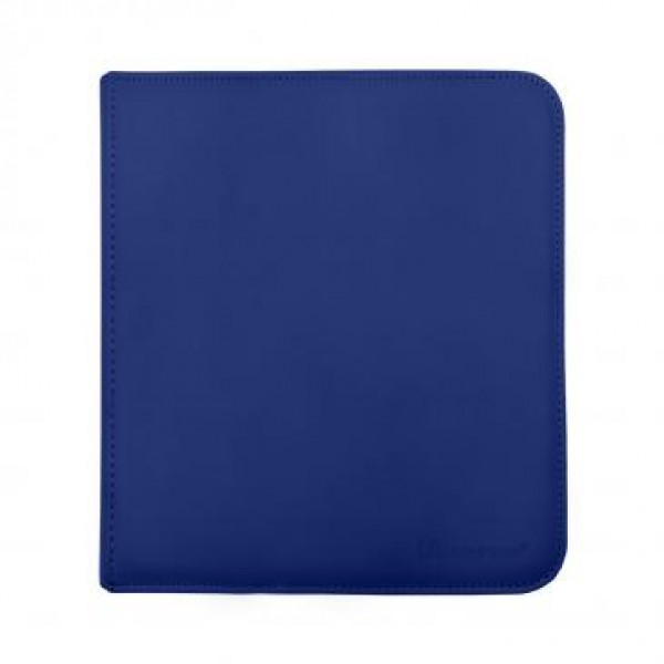 Ultra Pro 12-Pocket Zip Binder Blue