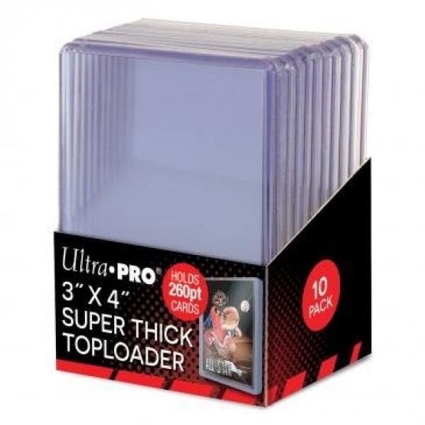 Super Thick Toploader (10 stuks)
