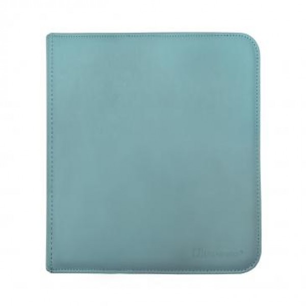 Ultra Pro 12-Pocket Zip Binder Light Blue