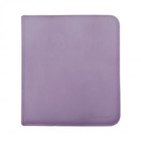 Ultra Pro 12-Pocket Zip Binder Purple