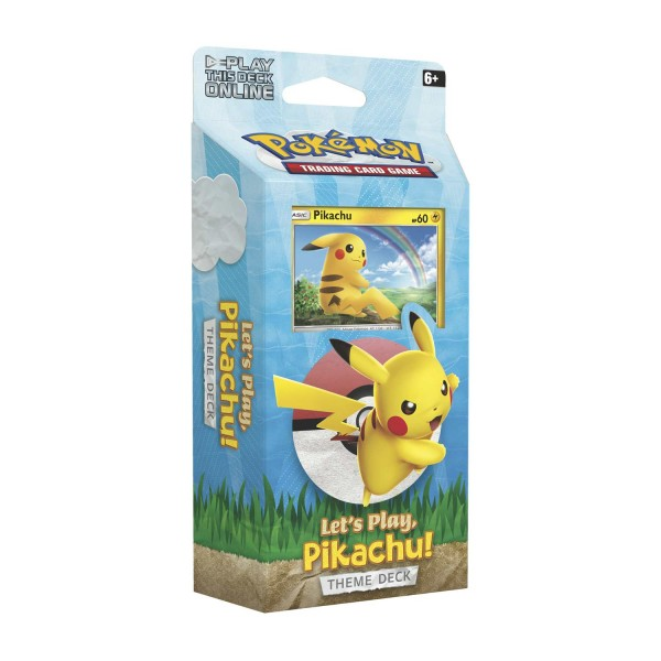 Let's Play! Pikachu Theme Deck