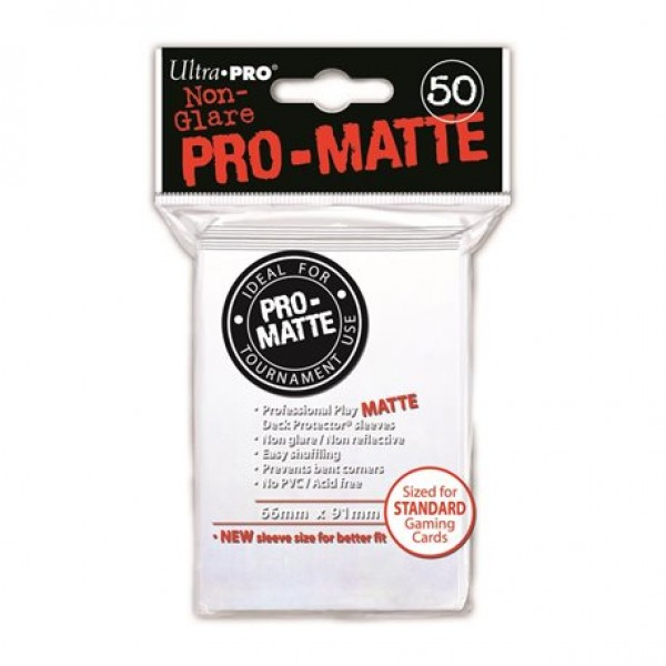 Ultra Pro Sleeves Mat Wit
