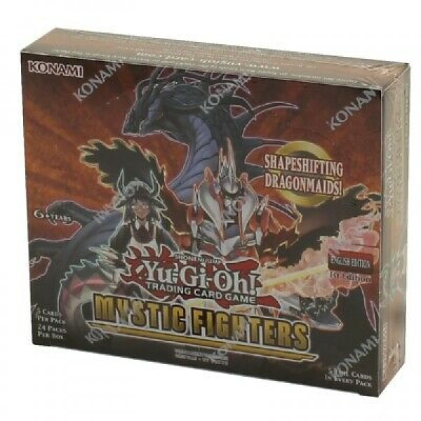 Yu-Gi-Oh Mystic fighter boosterbox