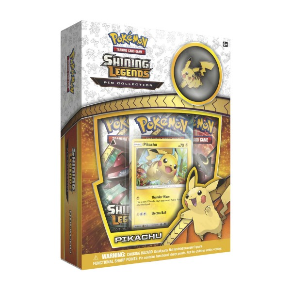 Shining Legends Pin Collection - Pikachu