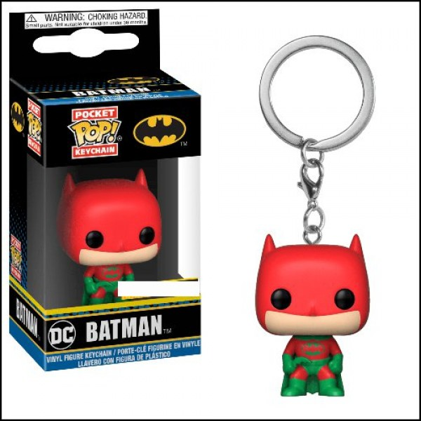 Funko POP! Keychains DC - Batman (Holiday)