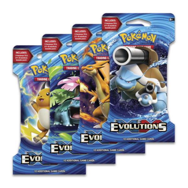 Evolutions Sleeved Boosters