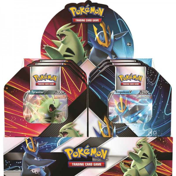 Summer V Strikers Tin - Tyranitar
