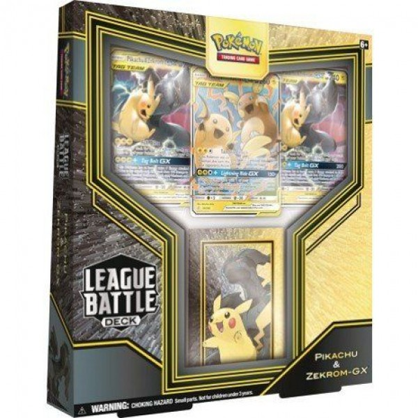 League Battle Deck - Pikachu & Zekrom GX