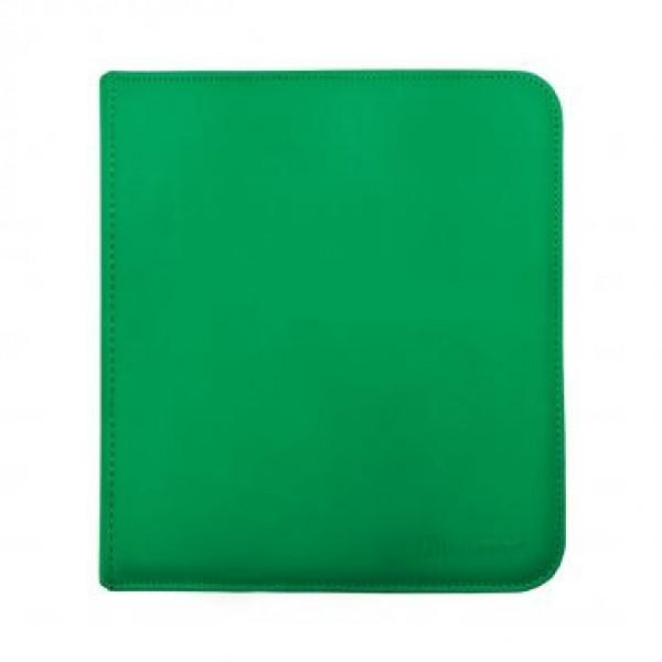 Ultra Pro 12-Pocket Zip Binder Green