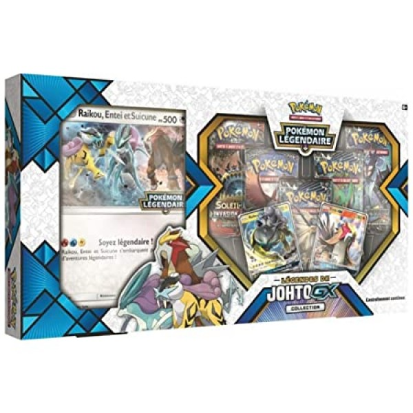 Coffret Pokemon Collection GX Legendes de Johto