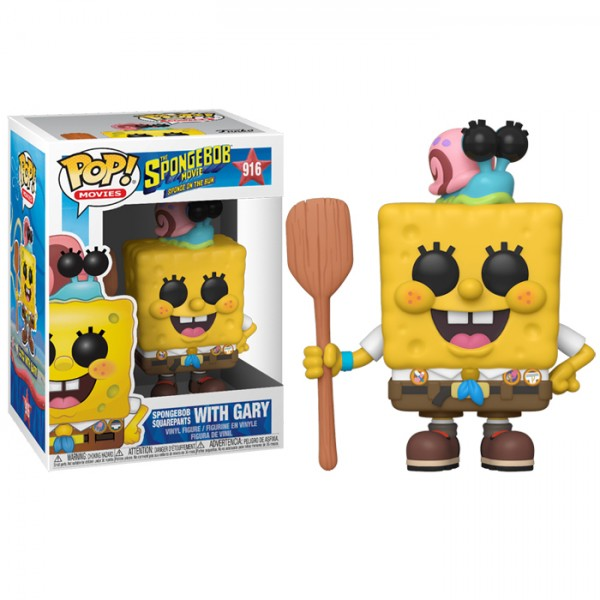 Funko Pop 916 Sponge Bob - SpongeBob in Camping Gear