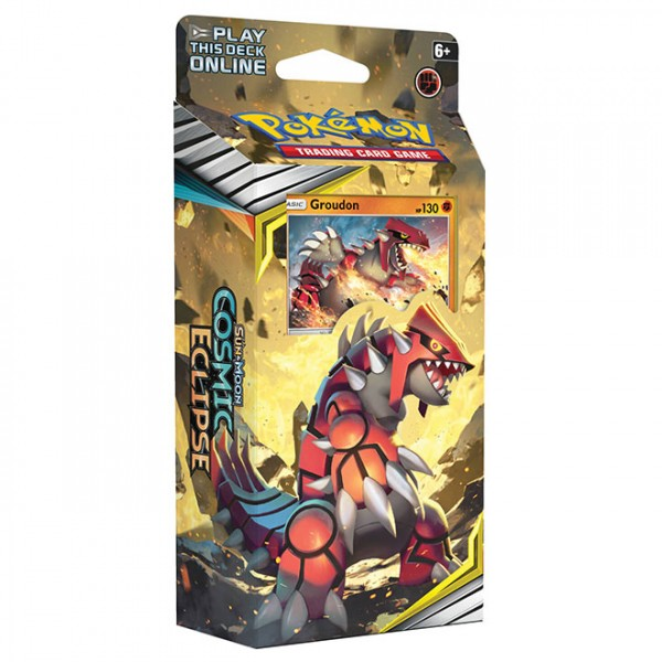 Sun & Moon Cosmic Eclipse Theme Deck - Groudon
