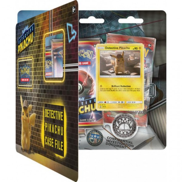 Detective Pikachu 3 Booster Blister