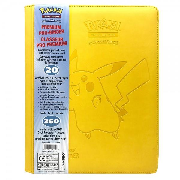 Pro Binder 9-Pokcet Premium Pikachu
