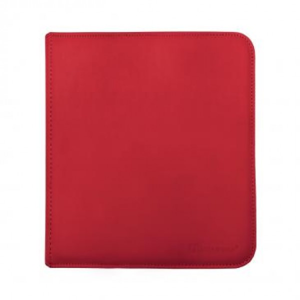 Ultra Pro 12-Pocket Zip Binder Rood
