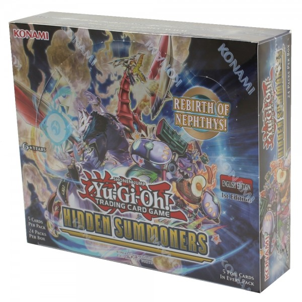 Yu-Gi-Oh - Hidden Summoners - Booster Display (24 Packs)