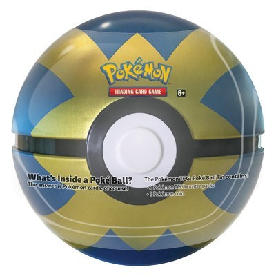 Pokeball Fall Tin 2019 - Blue Gold