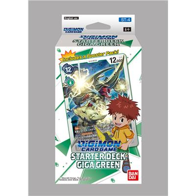 Digimon Starter Deck Giga Green