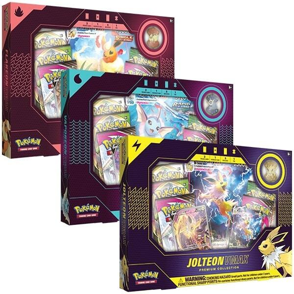 Vaporeon VMAX Premium Collection Box ( 1Box)