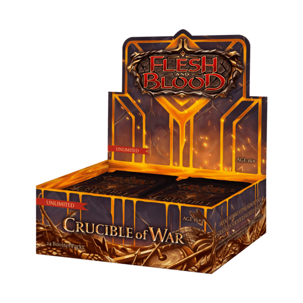Flesh & Blood - Crucible of War Unlimited Boosterbox