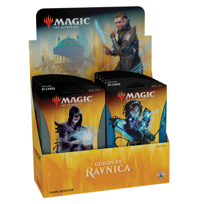Magic The Gathering - Guilds Of Ravnica Theme Booster Display (10 Packs)